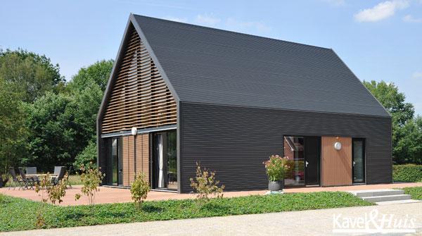 Lofthome huis bouwen woonconcepts geinspireerd door loft en boerenschuur kavel huis - Huis architect hout ...