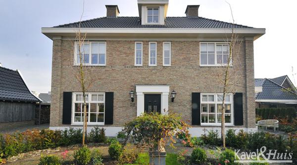 Esbi huis bv eigen ontwerp kavel huis for Ontwerp eigen huis